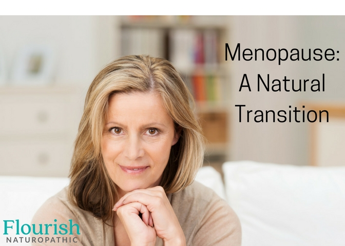Woman who uses natural medicine to support her through menopause.